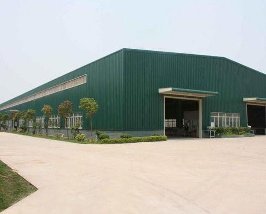 Green Steel structure Warehouse